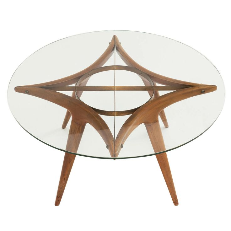 Original 1950's Gio Ponti Cocktail Table | From a unique collection of antique and modern coffee and cocktail tables at http://www.1stdibs.com/furniture/tables/coffee-tables-cocktail-tables/