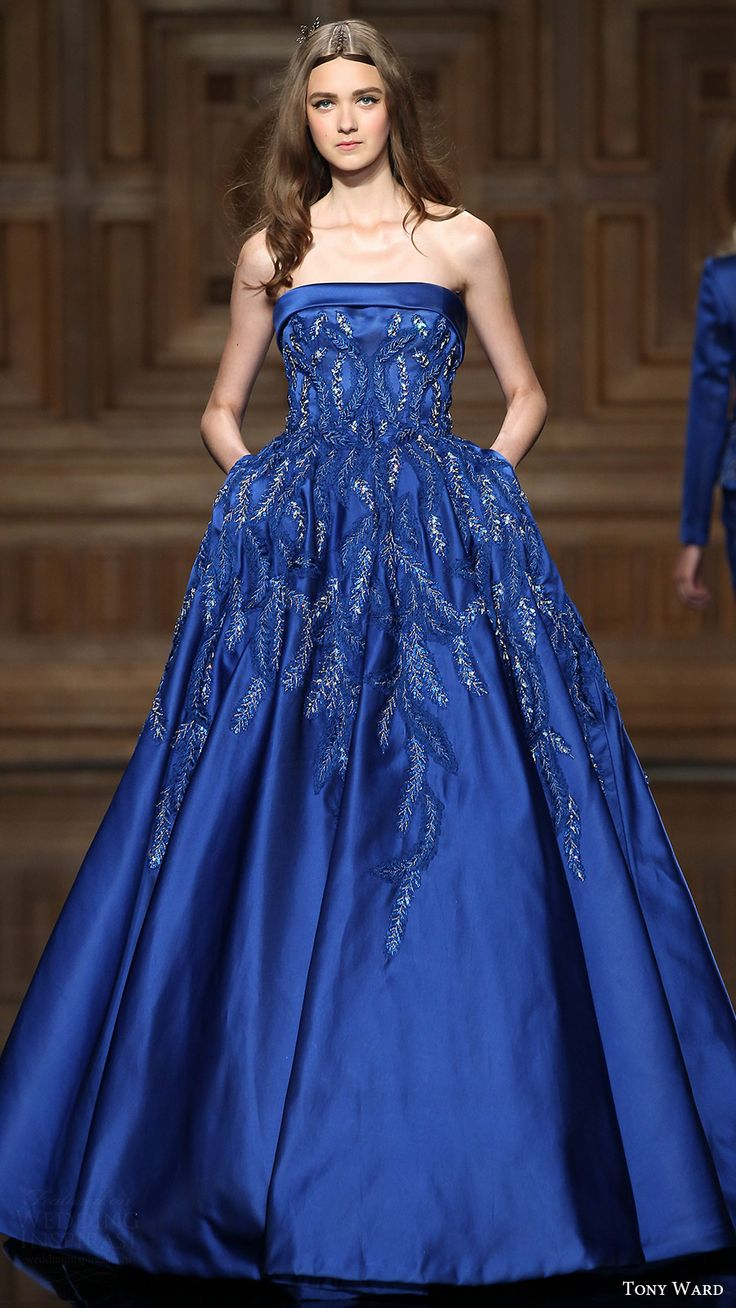 Wedding Blue Gown 17 best ideas about blue gown on pinterest dress navy tony ward fallwinter 2016 2017 couture collection