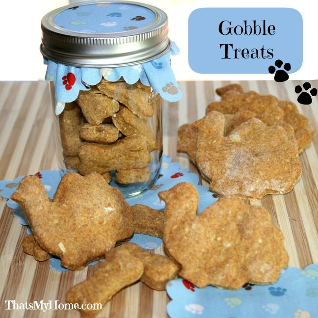 pumpkin dog treat recipes pinned from Rock 'N Share #66