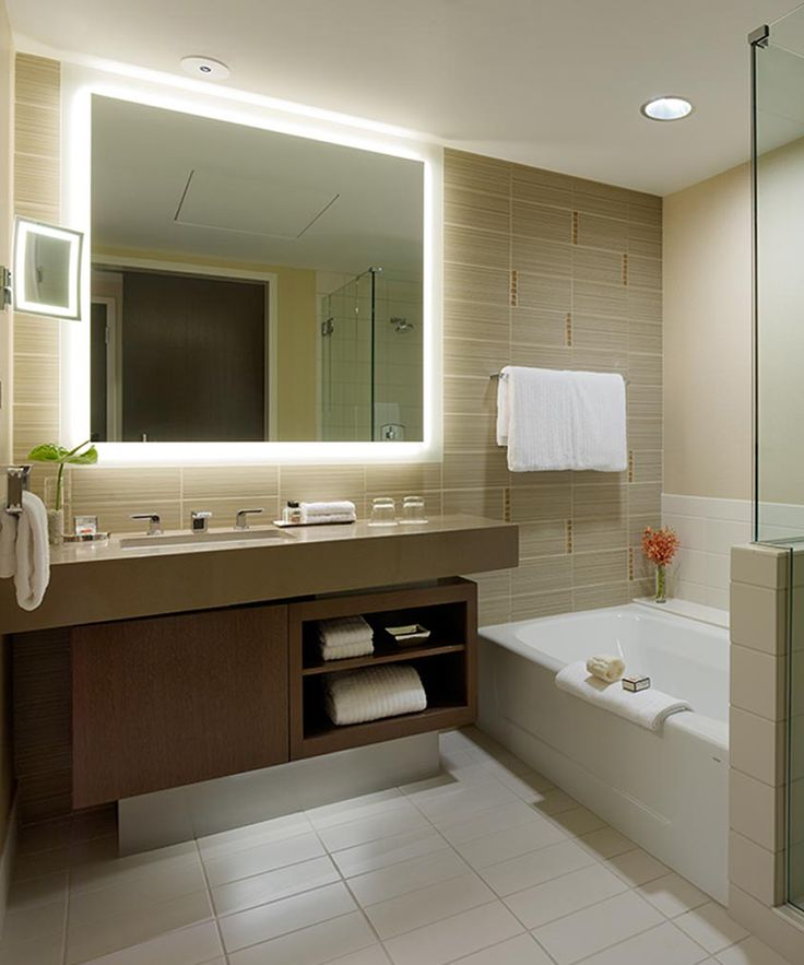 Silhouette™ LED Lighted Bathroom Mirror | Mirror with ...