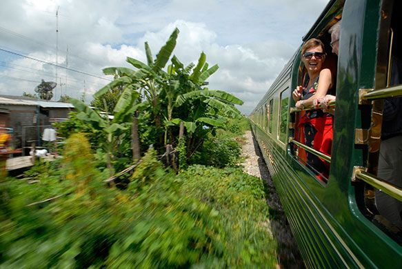 Credit: Alamy Chiang Mai, Thailand to Singapore An intimate view of the equatorial tropics minus the mosquitoes. A...