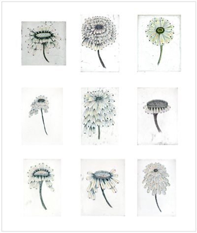 Artist Kiki Smith  Escapades (2011)   Suite of nine hand-colored etchings on Hahnemühle bright white paper, 15 x 11 inches each, edition of 18, printed and published by Harlan & Weaver, New York