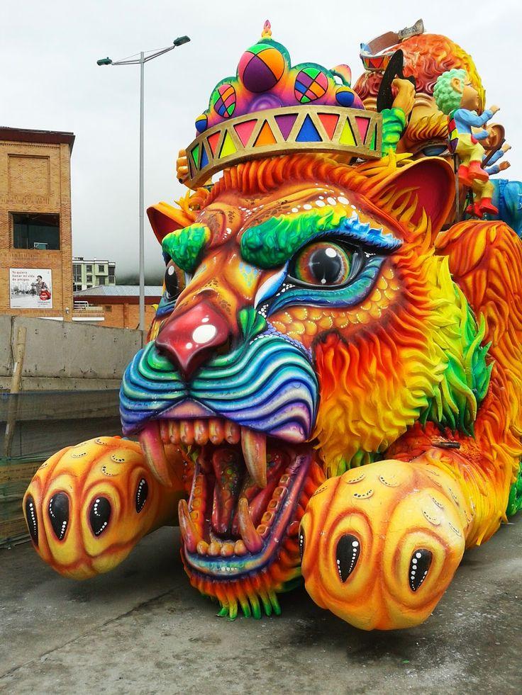 Carrozas Ganadoras Carnaval de Negros y Blancos 2014 | :::: La Estación Gráfica ::::