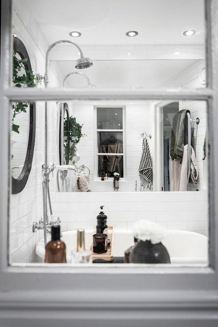 Cuarto de baño y cocina en estilo rústico francés ...
