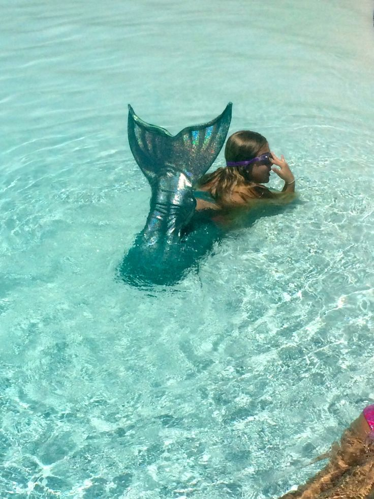 Custom Swimmable Mermaid Tail With Monofin by EnchantedMermaidTail