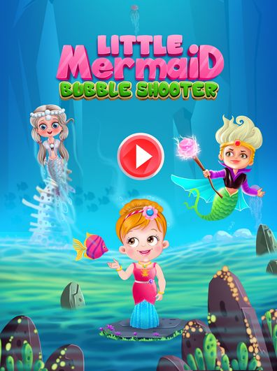 A fun and addictive bubbles shooter game to enjoy! Set your target and shoot he bubbles to rescue mermaids with Baby Hazel