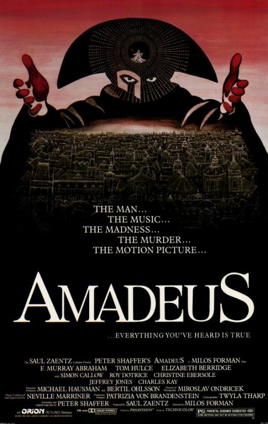 An analysis of the play amadeus by peter shaffer