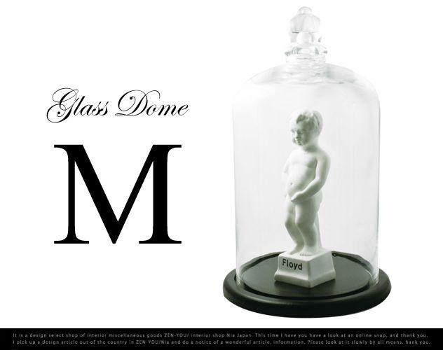 GLASS DOME Floyd  Msize/ガラスドーム フロイド  Mサイズ