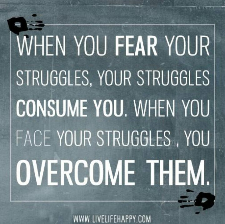 Inspirational Quotes About Fear: Quotes About Overcoming Fear Of Love. QuotesGram