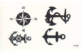 Resultado de imagem para tatuagem bussola