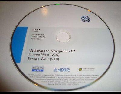 Volkswagen seat skoda kit di aggiornamento RNS 510 mappe v10 2014 Firmware