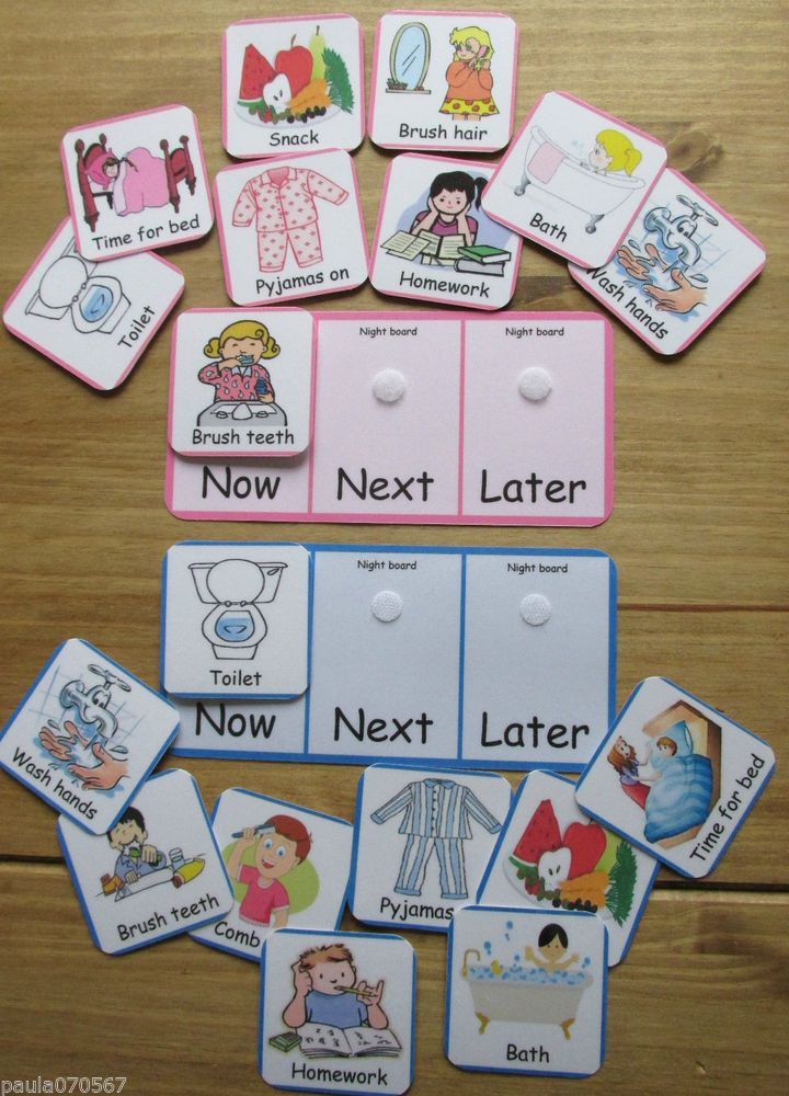 COMMUNICATION BOARDS + PECS~ Morning Routine~ Night Routine~ASD~AUTISM~SENS