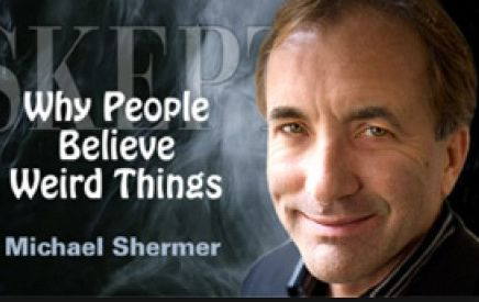 Michael Shermer is a self-proclaimed sceptic and an Adjunct Professor of Economics. His scepticism is however somewhat selective since he is evidently sceptical only of those who are sceptical of the Authorities of whom he is not himself sceptical.