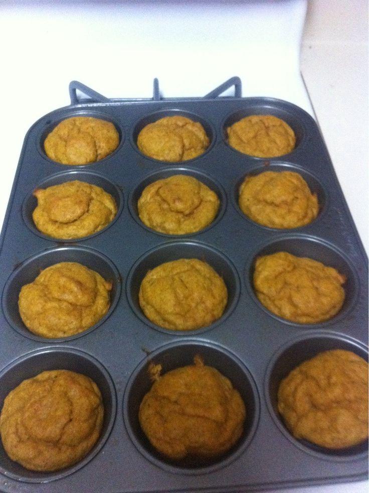 Pumpkin Muffins-low carb