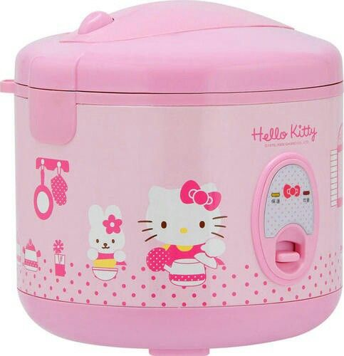 Hello Kitty Is That A Crockpot I D Be So Afraid To Use It