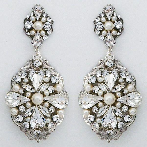 Red Carpet Chandelier: 25+ Best Ideas About Bridal Chandelier Earrings On
