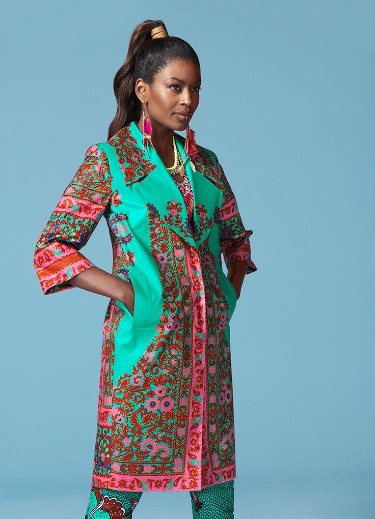 Floral Java Jacket | Vlisco V-Inspired