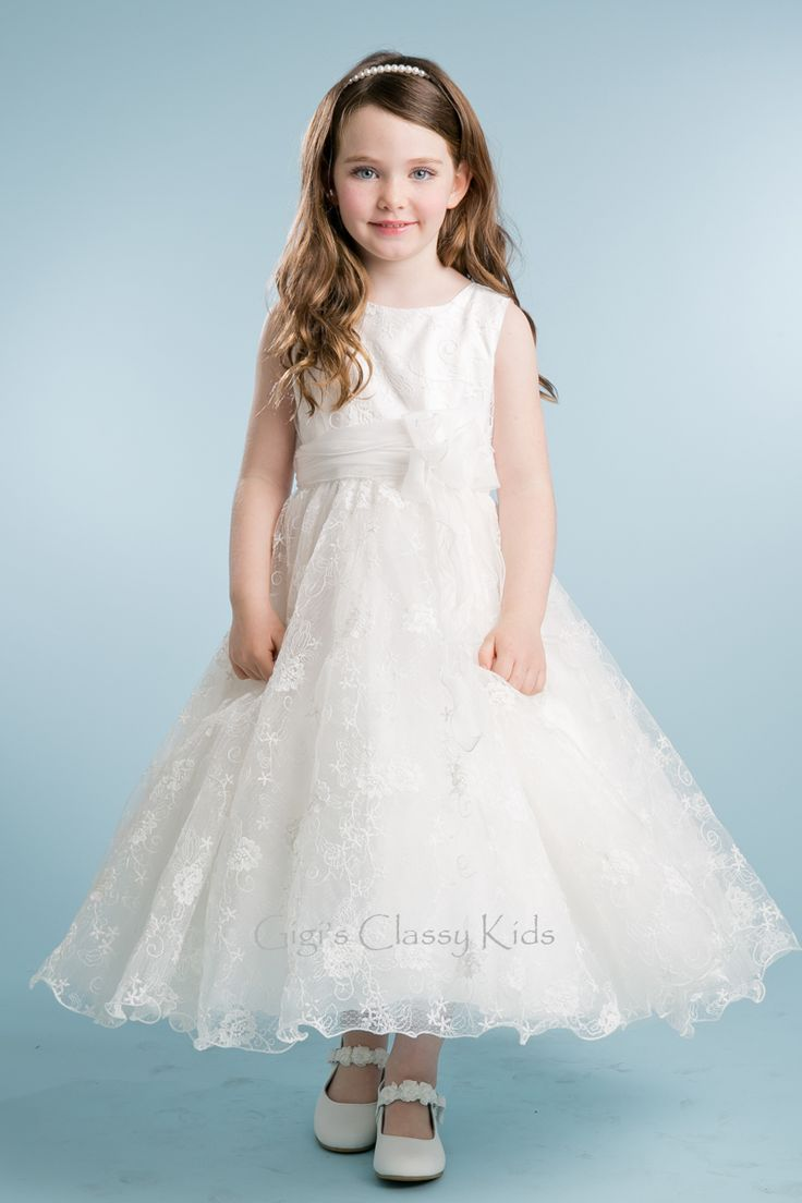 17 best flower girl dresses images on pinterest flower girls a fun to wear dress from petite adele for your girl will make a good impression at the special event shell attend the ivory gorgeous solid lace dress ombrellifo Gallery
