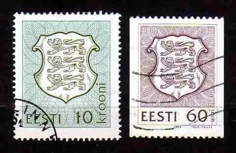 estônia 1992/96 * brasão nacional * coat .of arms
