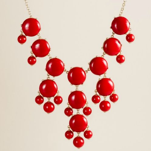 Dance to the Radio: DIY: J.Crew Bubble Necklace. THIS IS HAPPENING.