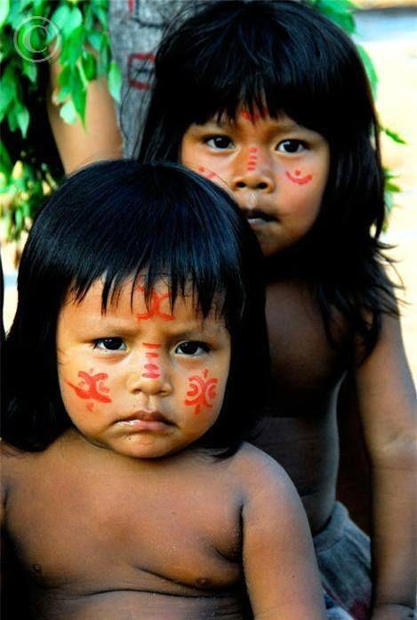 "Brazil | ""Children of the Amazon"" | ©Michel Renaudeau"
