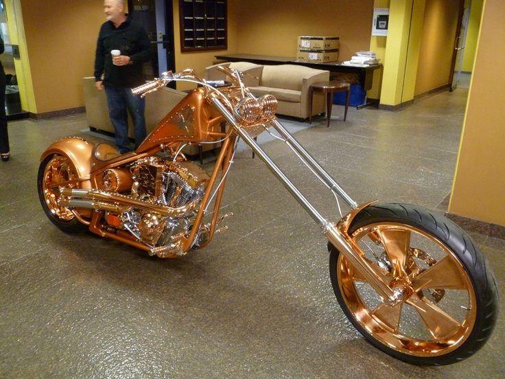 Arizona's Copper Chopper! I think this is so neat!