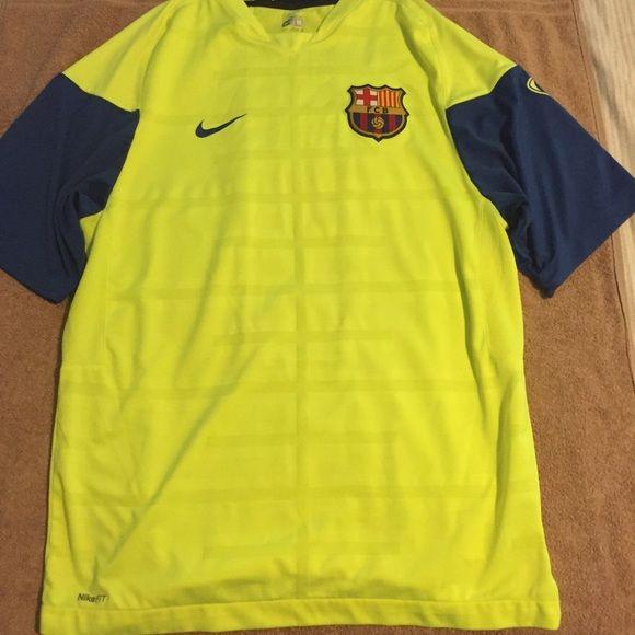 Nike Tops - Nike Barcelona training jersey