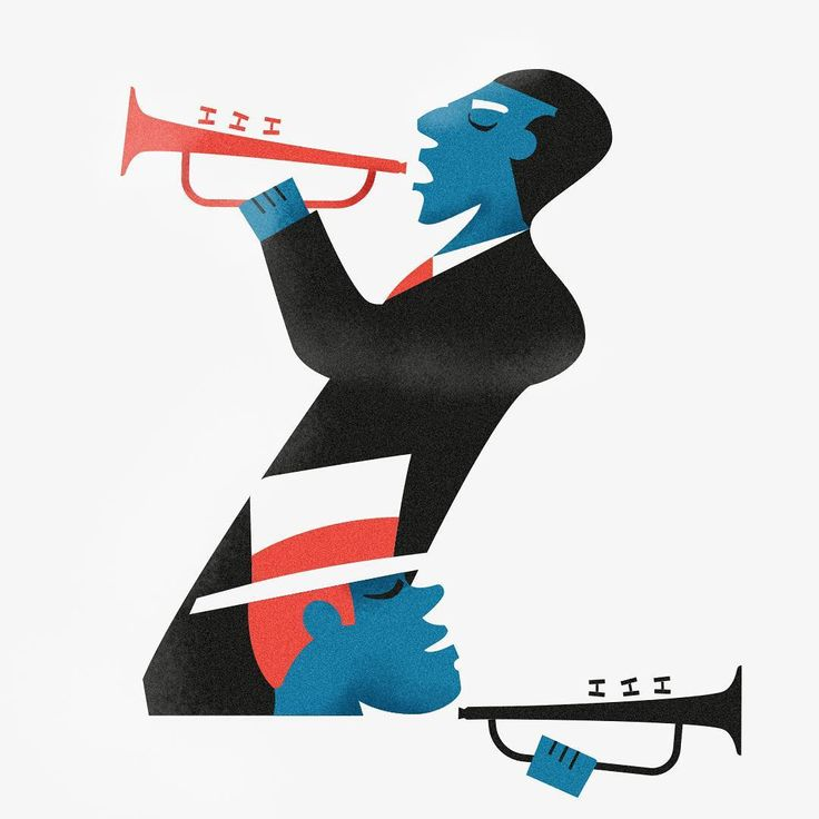 Jazzy Drop Caps by Alberto Casagrande (instagram @typocandy)  #jazzydropcaps 26/26   By the way, the Z is just two guys playing #trumpet. Jazzier than ever.   #illustration #illustrate #typographyart  #typography #lettering #design #graphicdesign #graphics #digitaldrawing #characterdesign #artsy #artwork  #jazzy #printdesign #vectors #typedrawn