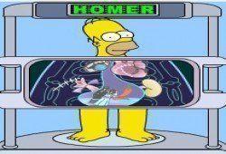 ESCANER HOMER SIMPSON - Juego de Homer simpson gratis