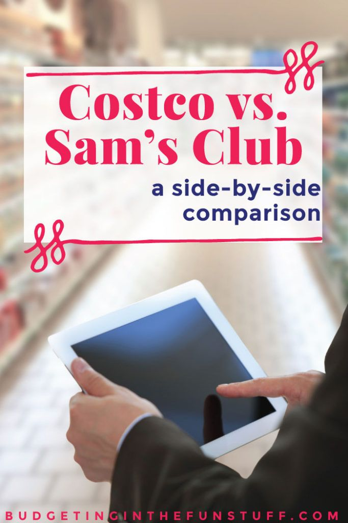 I always wonder if it's cheaper to shop at Costco or Sam's Club and this comparison lists out the pros and cons. Costco vs Sam's Club is such a controversial topic, lol. Saving money on groceries is a HUGE way to make a budget balance, so this is definitely something to think about.