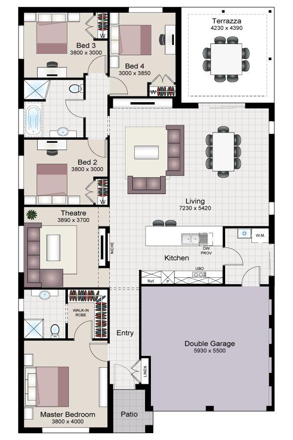 Best Beechwood Images On   Floor Plans House Design