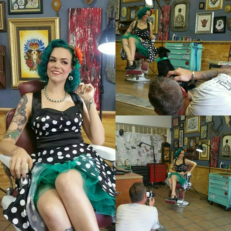 Had such an amazing photo shoot with Adel Strydom at #electricloungetattoo for #pinupforpetsproject  Keep a look out for the behind the scenes video. #pinup #olympus