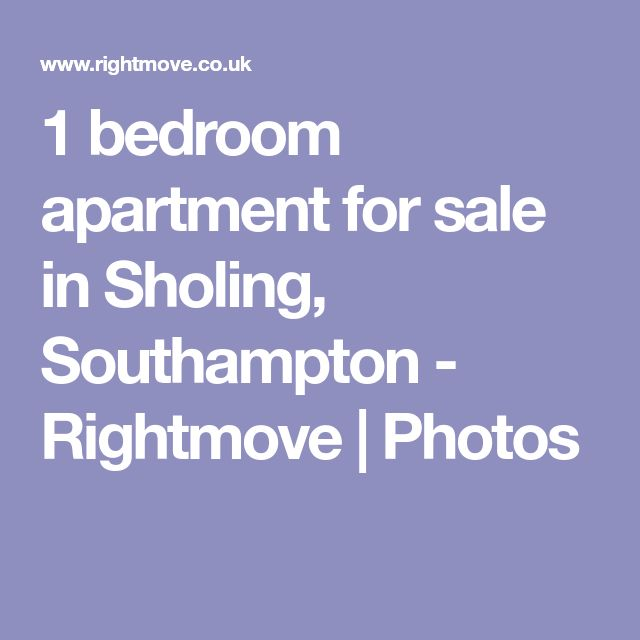 1 bedroom apartment for sale in Sholing, Southampton - Rightmove | Photos