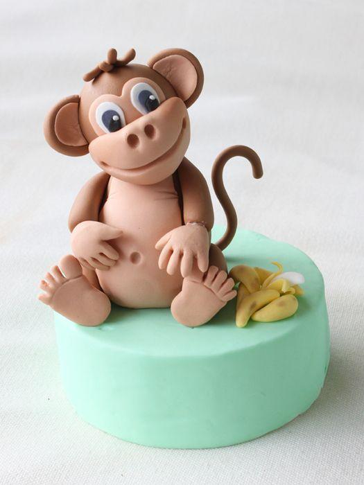 Лепим очаровательных обезьянок на Новый год. мастер - класс. видео мастер - класс. Обсуждение на LiveInternet - Российский Сервис Онлайн-Дневников