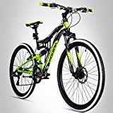Amazon Angebote SportingGoods Bike Bergsteiger Kodiak 26 Zoll Mountainbike, vollgefedert, Scheibenbremse, 21 Gang Shimano%#Quickberater%