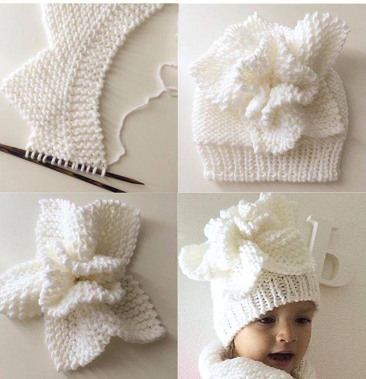 knitting children hat