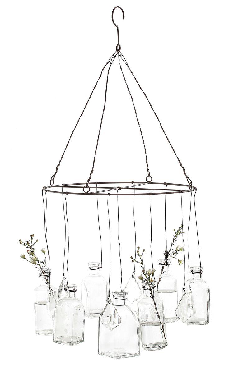 Creative Co-Op Wire Hanging Vase   AllModern