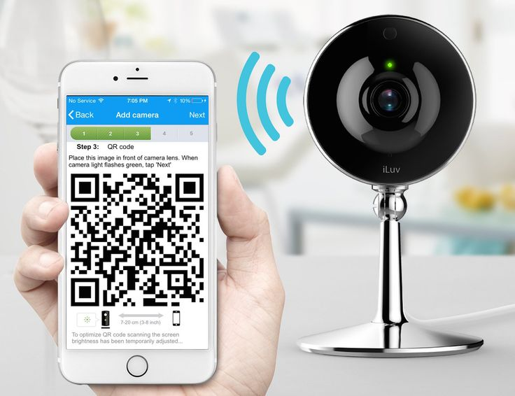 The mySight Wi-Fi Cloud #VideoCamera uses bank-level encryption for streaming and cloud recording so that you're able to keep a watch on your family in a secure way.