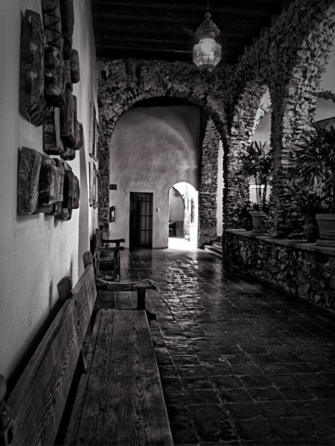 Ex Hacienda Los Laureles. Queretaro, Mexico.