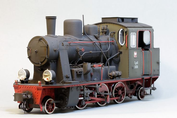 Parowóz Tyn6 1:25, ADW Model