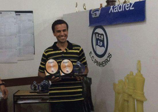 XADREZ - Guarulhense conquista título do 2º Aberto do Campeonato Paulista