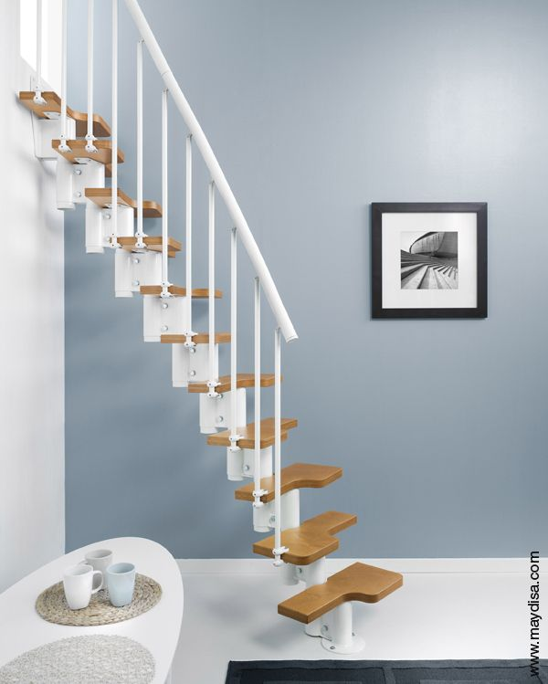 17 best images about escaleras on pinterest products - Escaleras para espacios pequenos ...