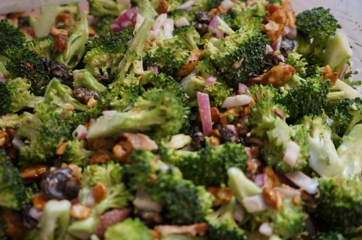 broccoli crunch crunch salad aka broccoli crack salad because it is ...