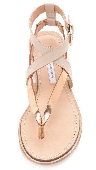 Diane von Furstenberg Dottie Wedge Sandals by Diane von Furstenberg