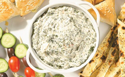 Epicure's Hot Spinach Dip