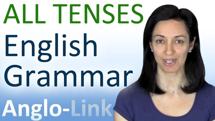 summary of all English tenses