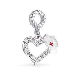 Pandora nursing charm - great gift for your favorite nurse! #nurse #gifts