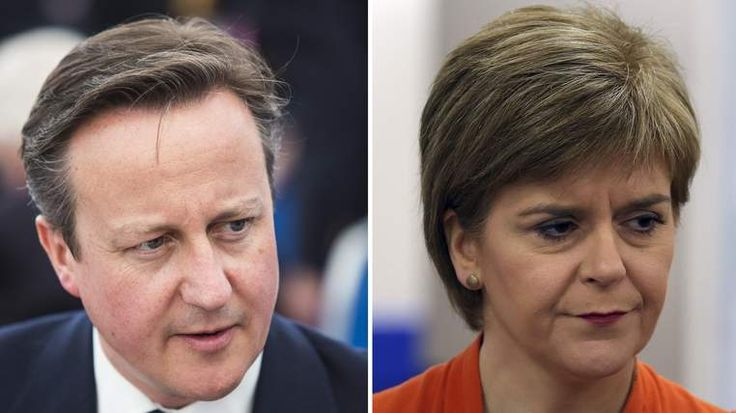 David Cameron and Nicola Sturgeon will be meeting in Scotland later