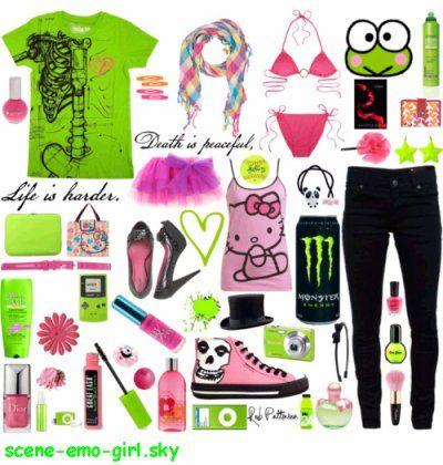 Scene clothes | scene/emo clothes
