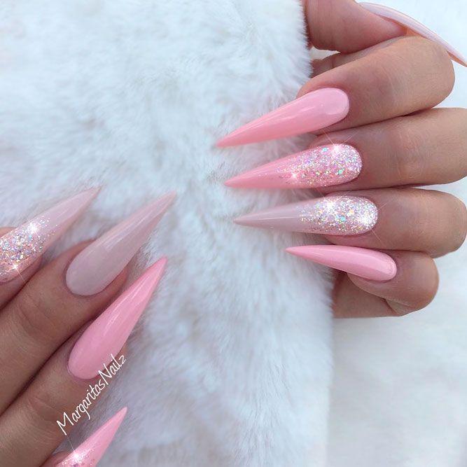 Sweet Blush Nails Designs, perfekt für jede stylische Lady ★ Weitere Informationen: Naildesign